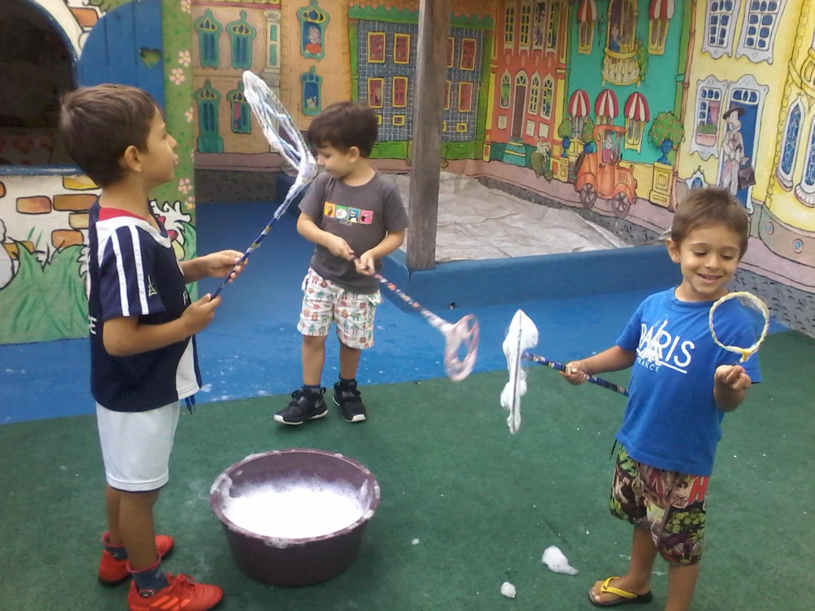 Espaço Brincar II - Julho